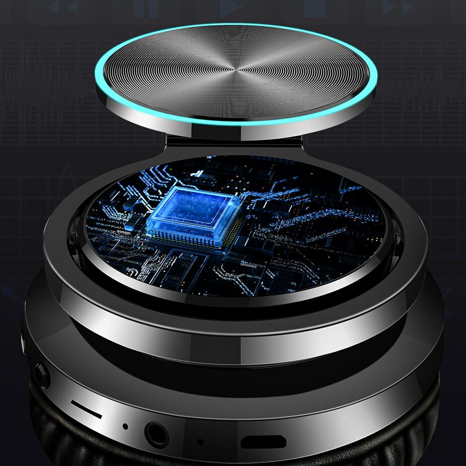 bluetooth 5.0 chippel szerelt fejhallgató