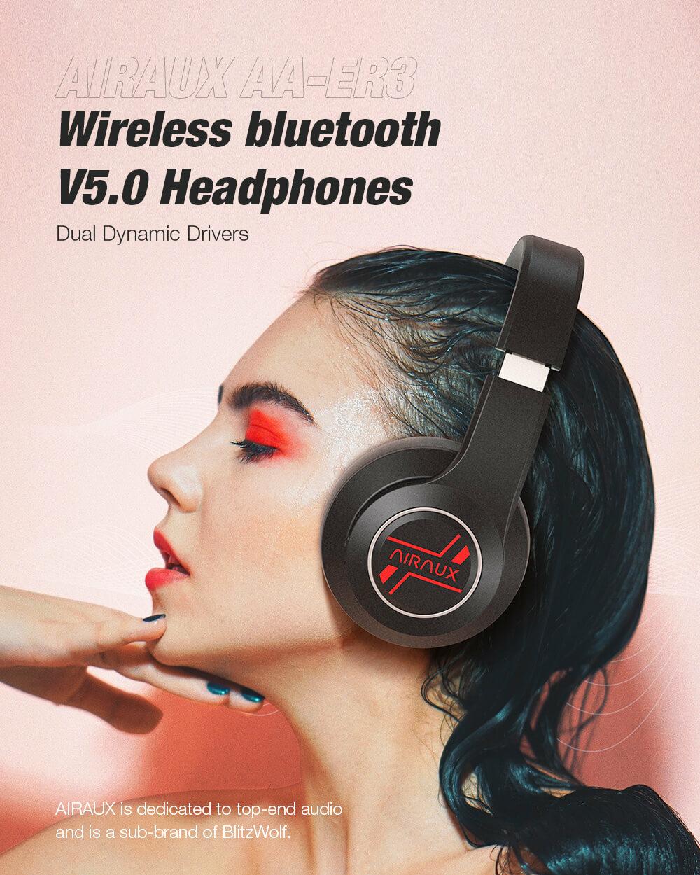 BlitzWolf® AirAux AA-ER3 Bluetooth 5.0 vezeték nélküli fejhallgató