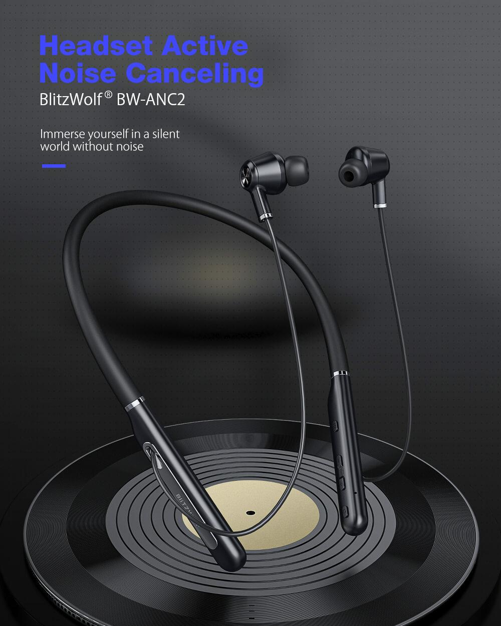 BlitzWolf BW-ANC2 Bluetooth 5 fülhallgató