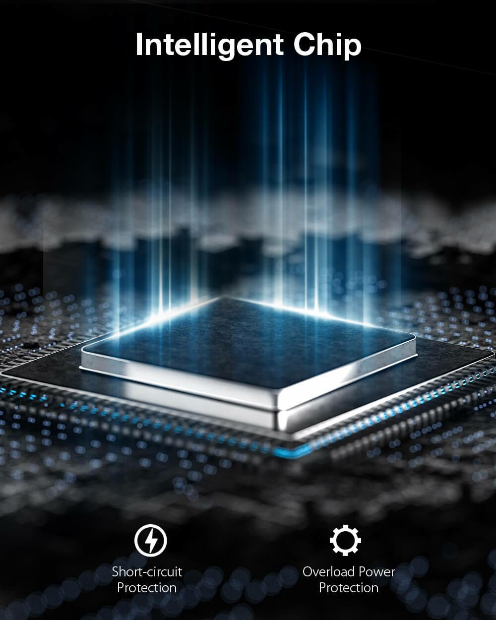 BlitzWolf® BW-FAS2 elektromos masszázspisztoly intelligens chip